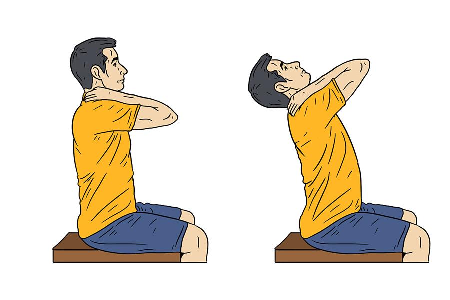 füsioteraapia harjutused kaelale